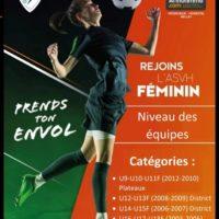 L'AS VEZERONE-HUERT section féminine recrute