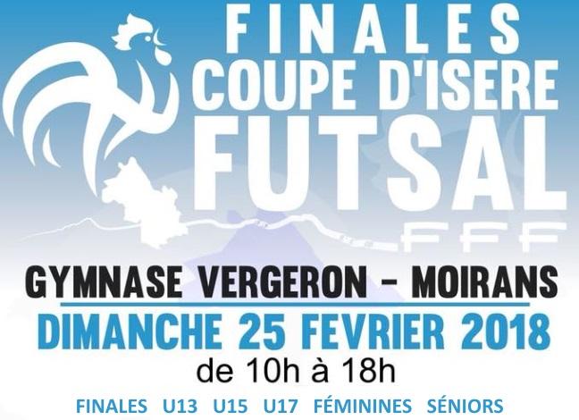 Finales Coupe de l'Isère Futsal
