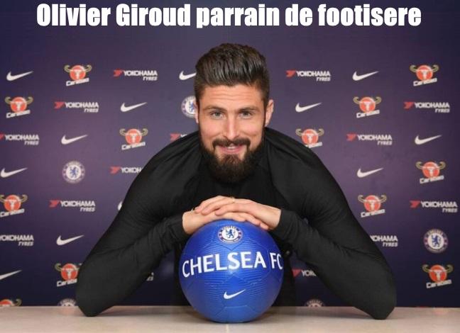 Olivier Giroud, un parrain d'exception